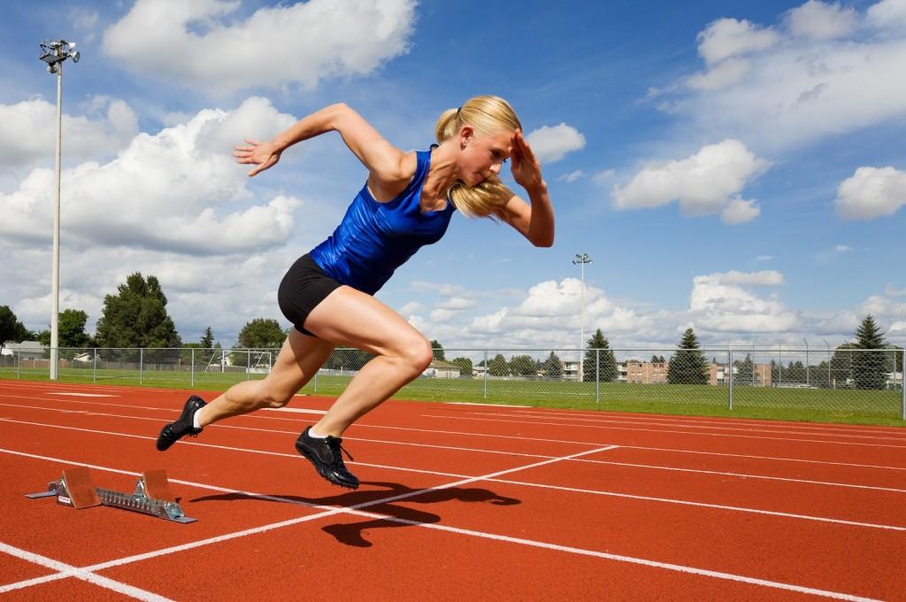 Mujer atleta